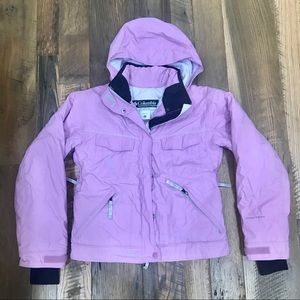 Columbia Omni-Tech Snowboard Ski Coat Girl 14-16
